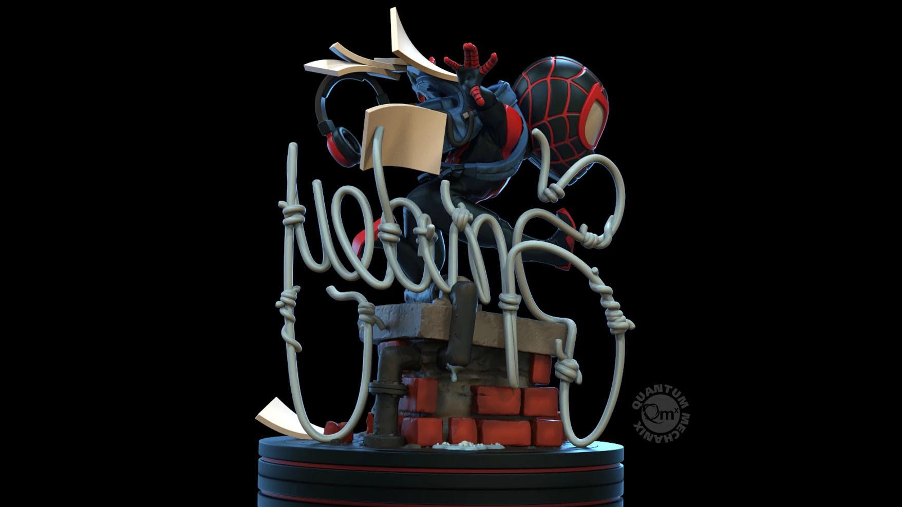 Miles Morales Spider-Man Q-Fig de Quantum Mechanix
