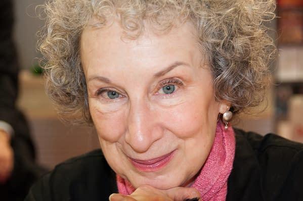 Margaret Atwood, author, at the Frankfurt Bookfair / Buchmesse Frankfurt 2009 in Frankfurt am Main, Germany