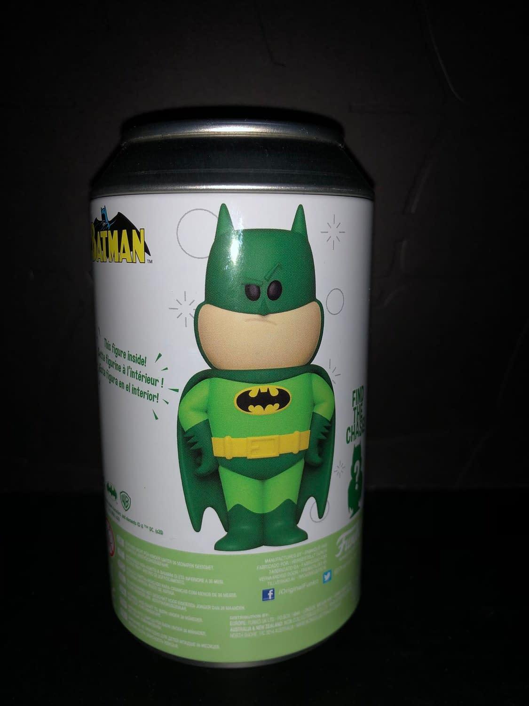 Funko Soda Vinyl Figure Emerald City Comic Con Exclusive Green Batman Figure
