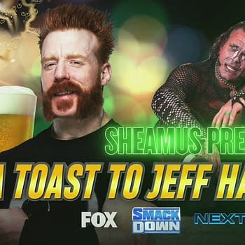 Sheamus plans to raise a warm glass of urine to Jeff Hardy