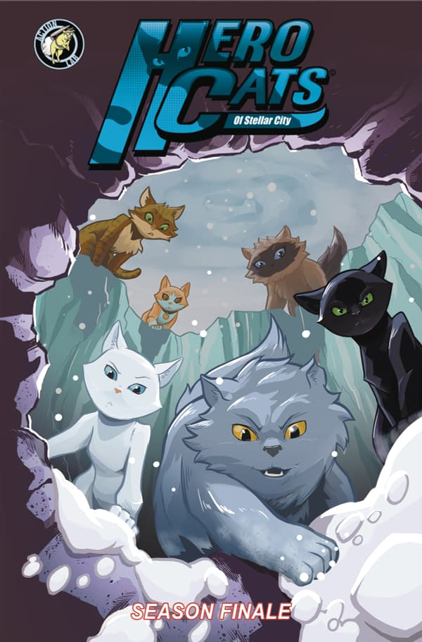 Hero Cat Season 7 Finale, Helm, and Ghost Owl: Action Lab Entertainment April 2018 Solicits