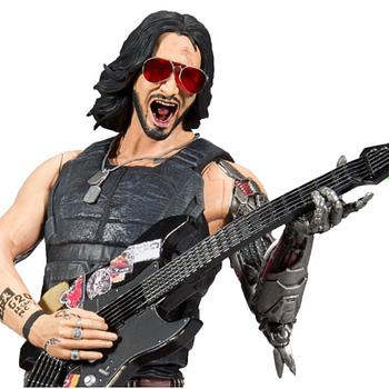 Keanu Reeves is a Badass Cyberpunk Rockstar with McFarlane Toys