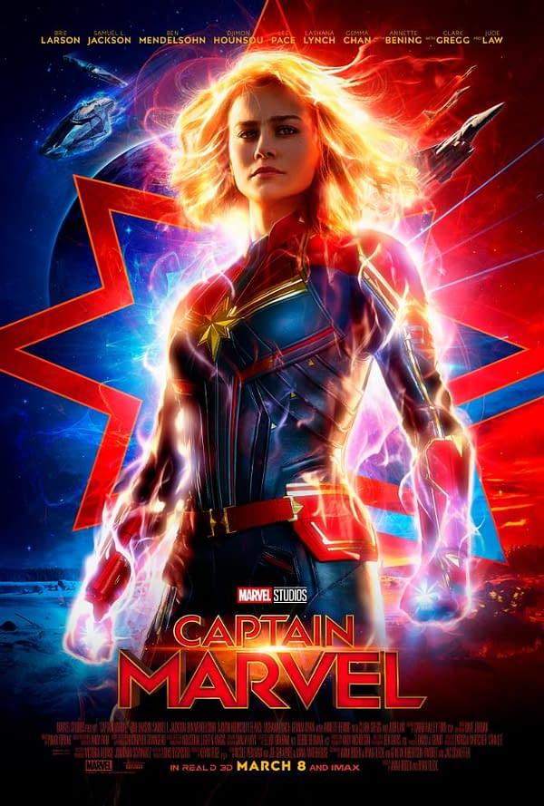 Marvel Studios Releases New 'Captain Marvel' Trailer