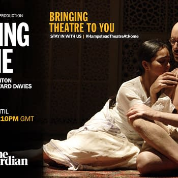 Here's a look at the performance poster for Hampstead Theater's production of Drawing The Line, streaming for free until April 19.