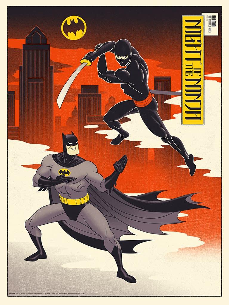 Affiches de la série animée Batman et Superman en provenance de Mondo demain