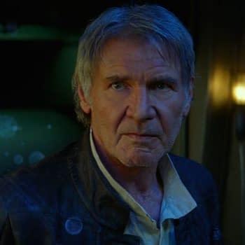 """Star Wars"": Harrison Ford Breaks Cameo Silence on ""Kimmel"""