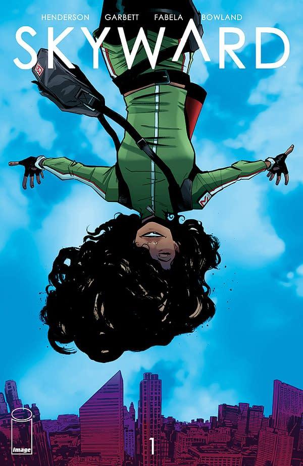 Skyward #1 cover by Lee Garbett