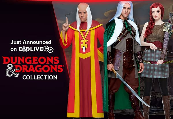Now you too can dress like a Dungeon Master, courtesy of Spirit Halloween.