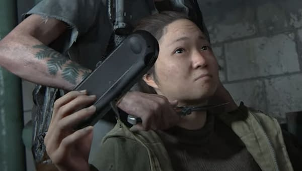The PS Vita was the center of attention during the most recent The Last of Us Part II footage.