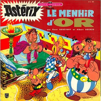 Lost Asterix Comic, The Golden Menhir, to be Published in October. Art from Albert Rene Editions.