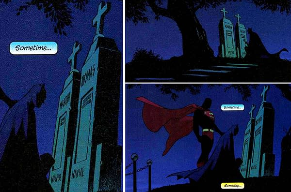 The Wayne Family Get New Graves in Batman's Grave #1 by Warren Ellis and Bryan Hitch