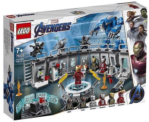 LEGO Avengers Endgame Iron Man Hall of Armor 1