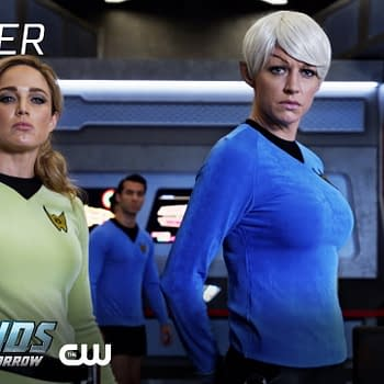 The Waverider team is back on DC's Legends of Tomorrow, courtesy of The CW.