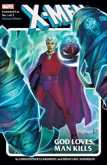X-Men God Loves Man Kills Extended Cut #1 Reis Variant Cover