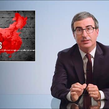 Last Week Tonight Host John Oliver Tackles Chinas Uighur Camps