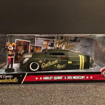 DC Bombshells Jada Toys Hollywood Rides Car Week: Harley Quinn