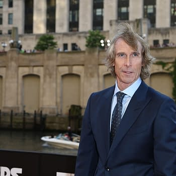 "Director Michael Bay attends the ""Transformers: The Last Knight"" premiere at the Civic Opera House on June 20, 2017 in Chicago, Illinois. Editorial credit: Debby Wong / Shutterstock.com"