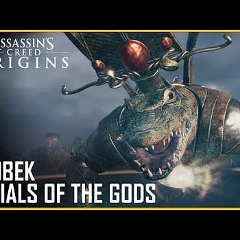 Fight A Giant Crocodile God In Assassins Creed Origins Right Now