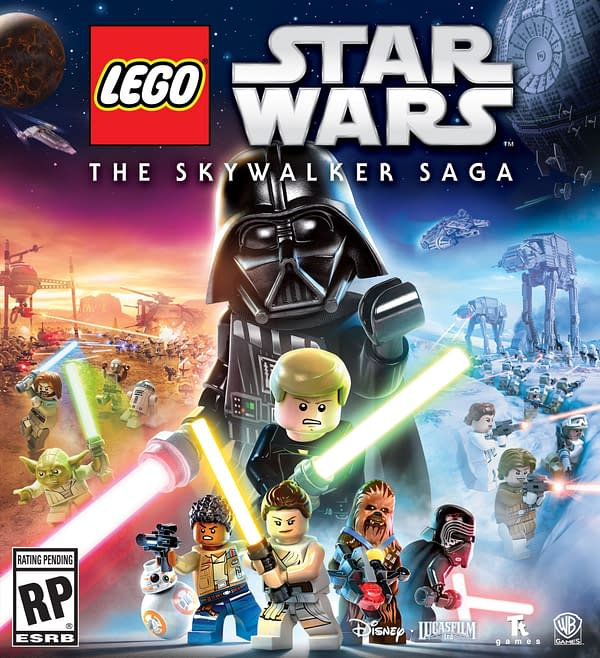 The art for LEGO Star Wars The Skywalker Saga looks pretty awesome, courtesy of WB Games.