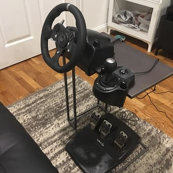 Logitechs  Driving Force G920 Wheel Pedals and Shifter Are Good But not Real Enough