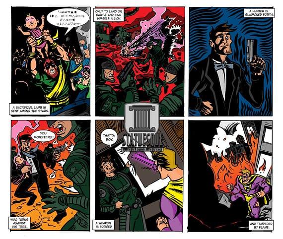 Post-Modern Mythologies by Eric M Esquivel #8 – Colour Me Curious
