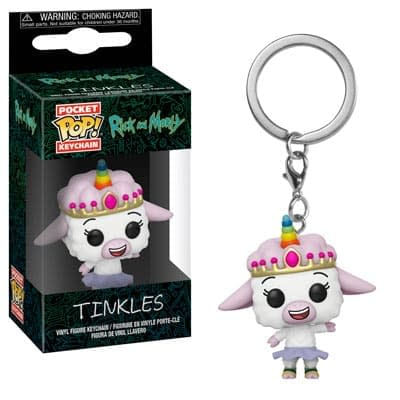 Funko Rick and Morty Keychain 4