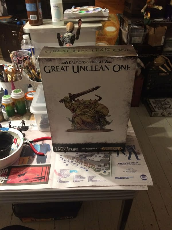 "Review: Games Workshop's ""Great Unclean One"" - ""Age of Sigmar"""
