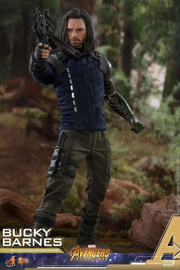Bucky Barnes Infinity War Hot Toys 9