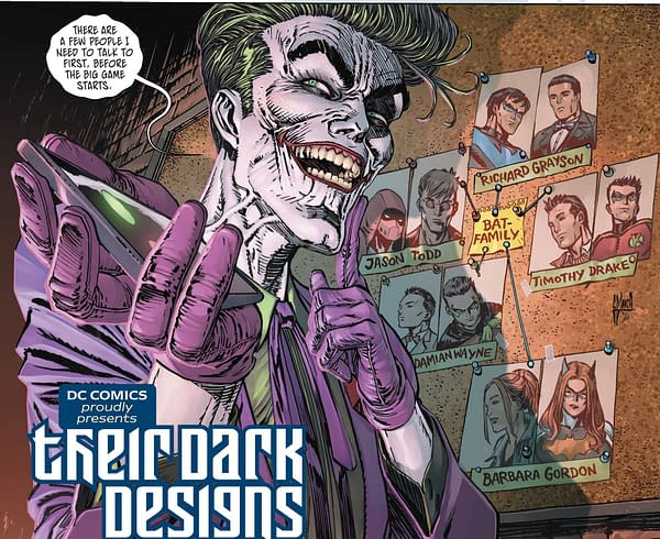 The Joker Takes His Crowbar to Dick Grayson One More Time