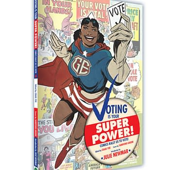 Voting Is Your Superpower Fights For Truth, Justice, and Voting Rights