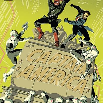 Captain America #704 cover by Michael Cho