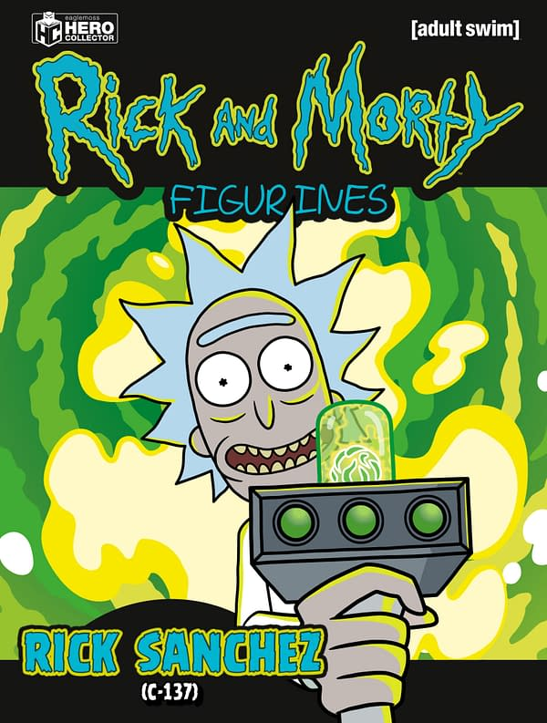 New Rick And Morty Magazine and Figurines Launch From Eaglemoss in 2020