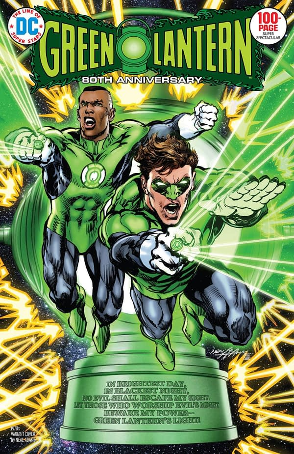 Green Lantern 80th Anniversary Special #1 1970's Variant Cover