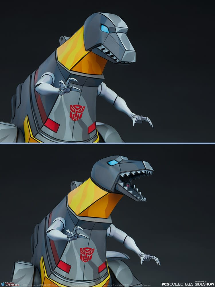 Grimlock Makes Transforming Prehistoric with Sideshow Collectibles