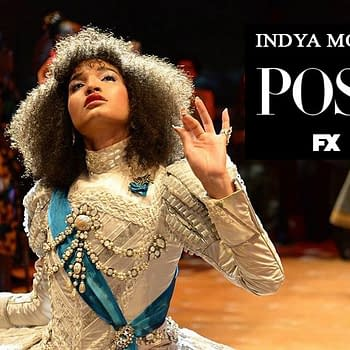 Indya Moore pose