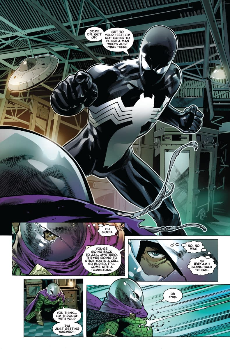 Mysterio Gets No Respect in Next Week's Symbiote Spider-Man #1