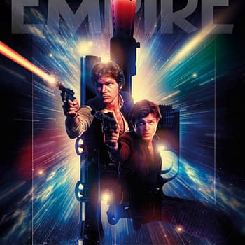 Double Han Solo on Empire Magazines Subscriber Cover