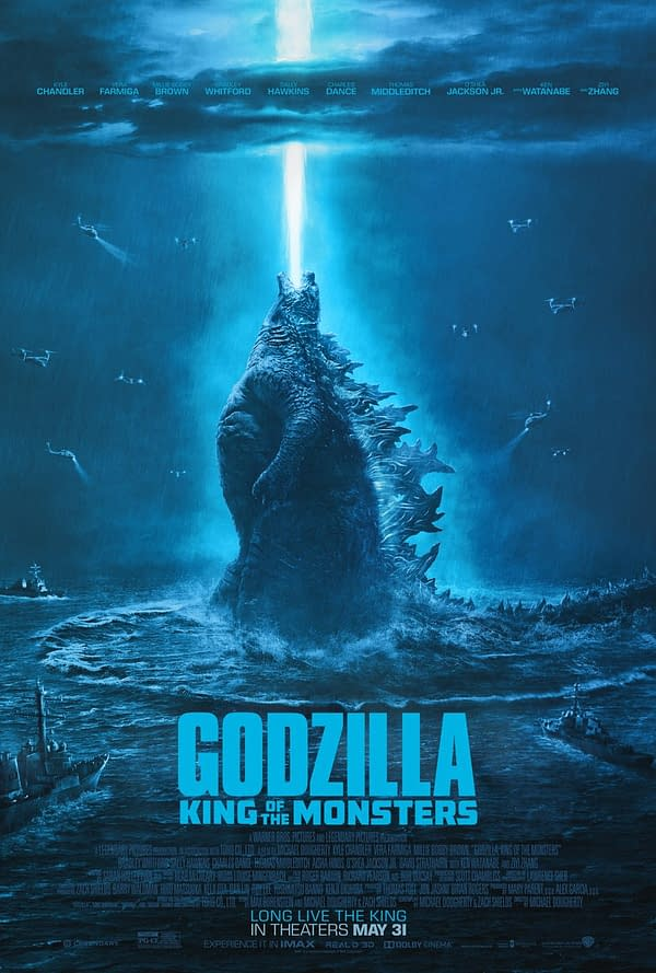 Long Live the King of the Monsters: New 'Godzilla' Poster is Monstrously Gorgeous