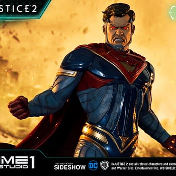 Injustice 2 Superman Statue from Prime 1 Studios