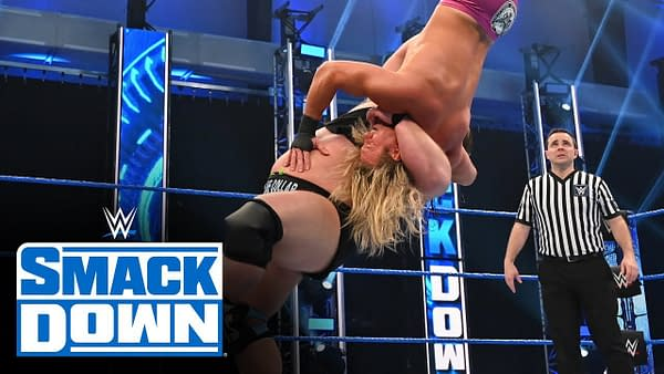 Otis vs. Dolph Ziggler – Money in the Bank Qualifying Match: SmackDown, May 1, 2020, courtesy of WWE.