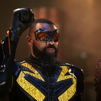 Black Lightning S03E10 The Book of Markovia: Chapter One: Blessings and Curses Reborn: Odell Dead Man Walking Gambi Goes Stalker-ish [PREVIEW]