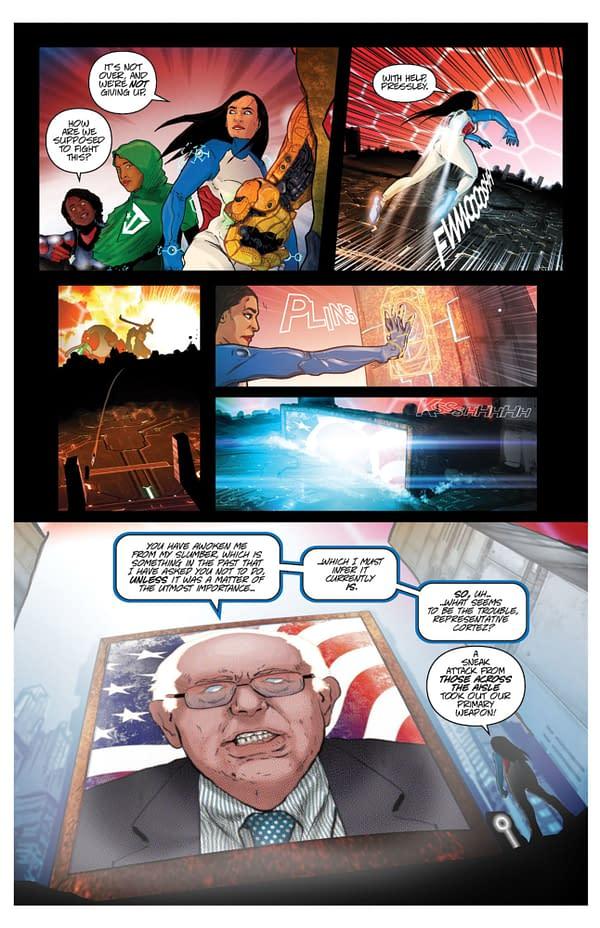 Bernie Sanders, AOC Go Full Power Rangers in Talk Bernie to Me