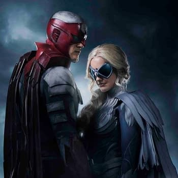 Rob Liefeld Reacts to New Titans Image of Hawk and Dove