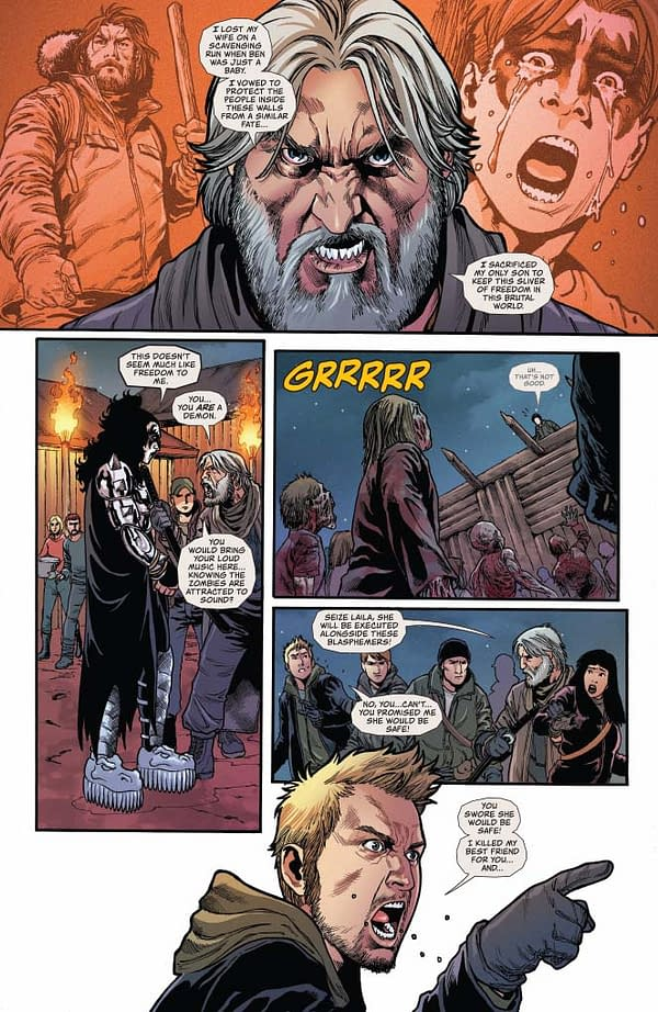 #EthanSacks' Writer's Commentary on #Kiss Zombies #5