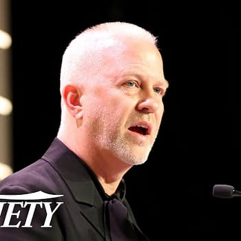 Ryan Murphy speaks to Variety, image courtesy of Variety.