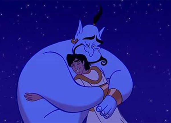 Aladdin: How Robin Williams' son Zak Uses Film to Teach His Child
