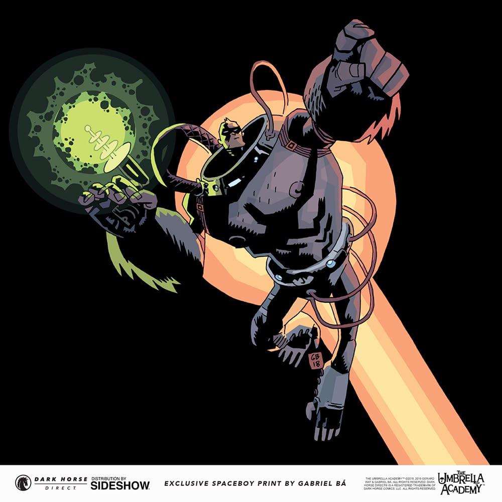 Umbrella Academy's Spaceboy Gets a New Statue from Dark Horse