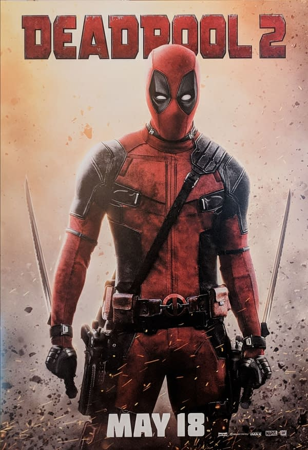 Deadpool 2: New Deadpool Poster from Cinemacon