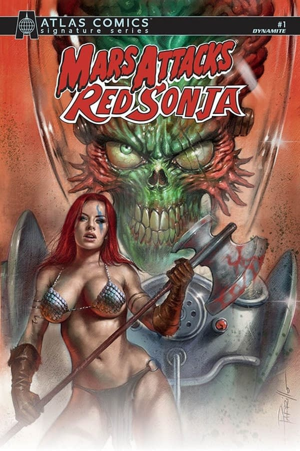 Mars Attacks Red Sonja Launches in Dynamite August 2020 Solicitations.