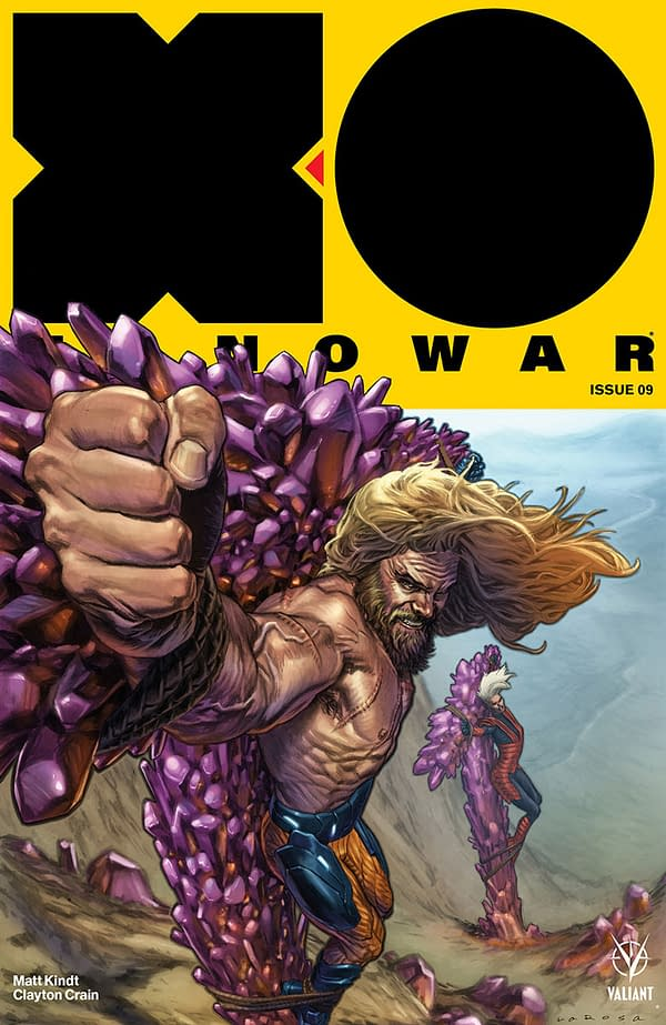 X-O Manowar #9 Cover by Lewis Larosa and Diego Rodriguez